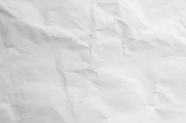 Fond De Texture De Papier Recyclé Froissé Blanc | Photo Premium