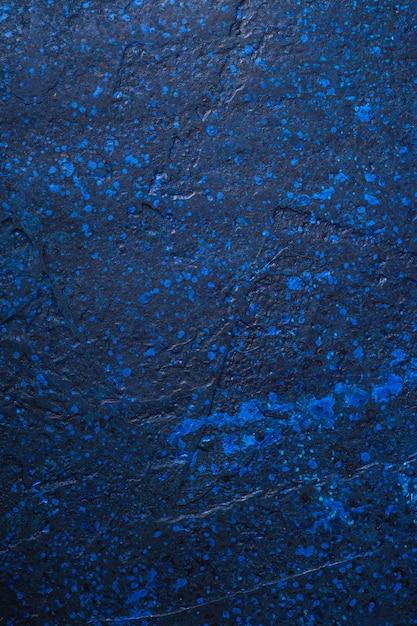 Fond De Texture De Peinture Bleu Foncé Photo Premium