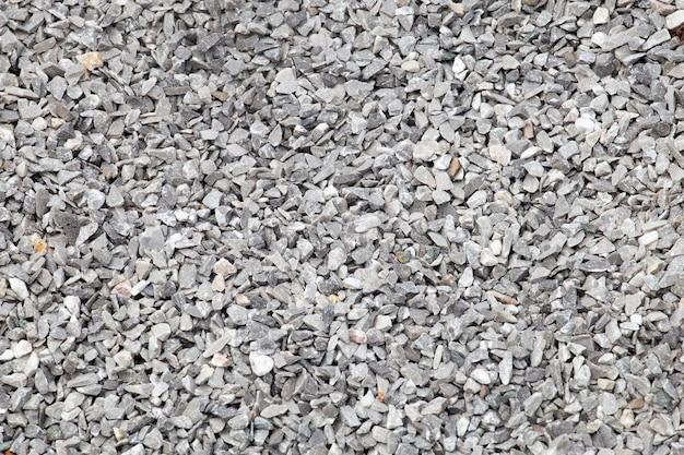 Fond de texture de pierre concassée. Photo Premium