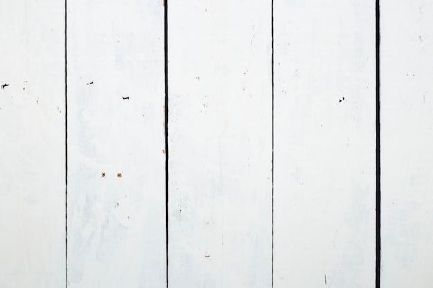 Fond De Texture De Plancher En Bois Blanc Avec Sale Et Rayé Photo Premium