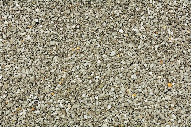 Fond de texture de sol en gravier gris clair (galets) - vue de ...