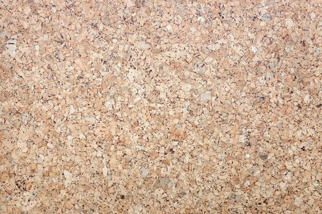 Fond et texture de la surface en bois de liège Photo Premium
