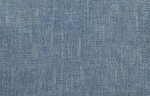 Fond de texture textile denim bleu. Photo Premium