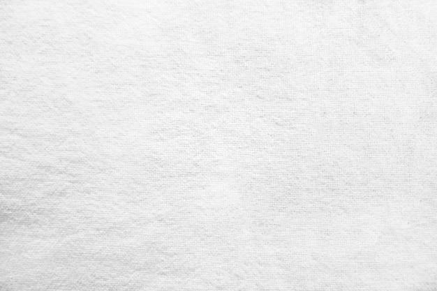 Fond De Texture De Tissu Blanc Photo gratuit