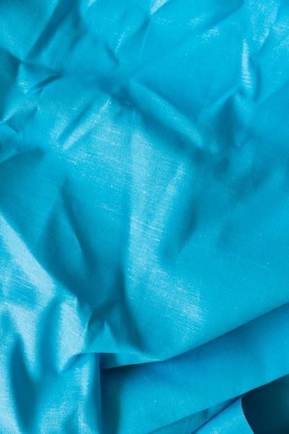 Fond de texture de tissu bleu Photo gratuit