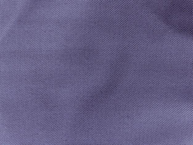 Fond De Texture De Tissu De Lin Bleu Photo Premium