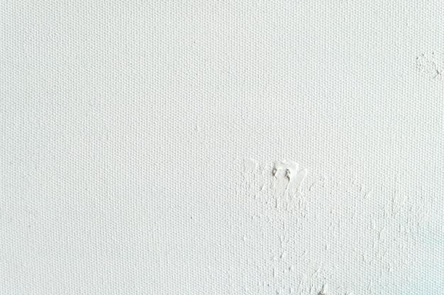 Fond de texture de toile blanche pour la peinture et le dessin d'art. Photo Premium