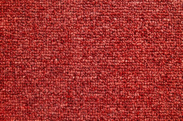 Fond de texture transparente tapis rouge. Photo Premium