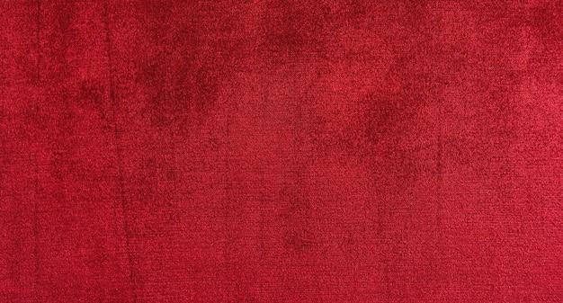 Fond De Texture De Velours Rouge Photo Premium