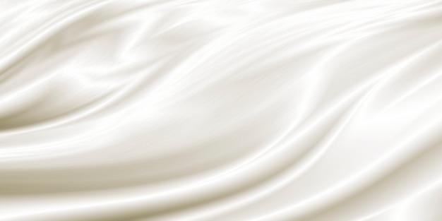 Fond De Tissu De Luxe Blanc Photo Premium