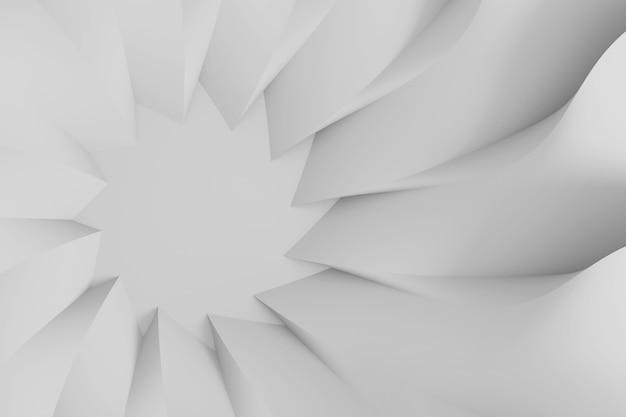Fond Tridimensionnel Paramétrique Abstrait Moderne Photo Premium
