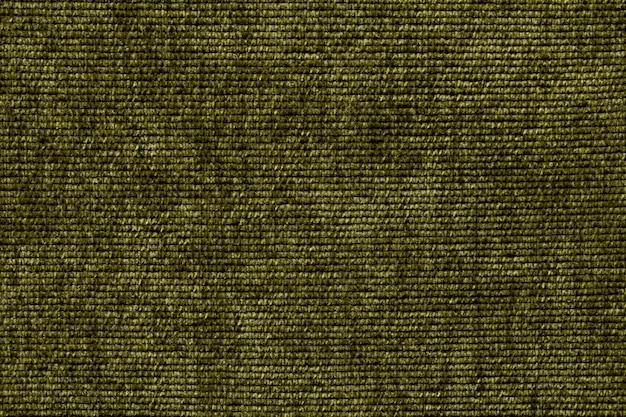 Fond Vert Olive à Partir D'un Matériau Textile Doux Photo Premium