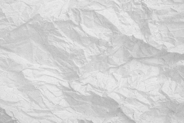 Fond Vide De Papier Froissé Gris Texture De Papier Froissé Gris Photo Premium