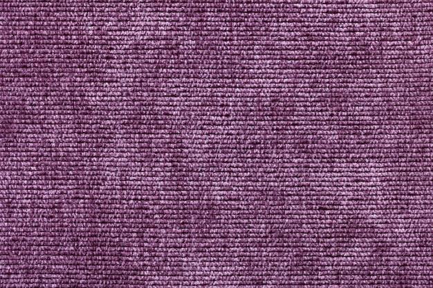 Fond Violet De Matière Textile Douce, Tissu Avec Texture Naturelle Photo Premium