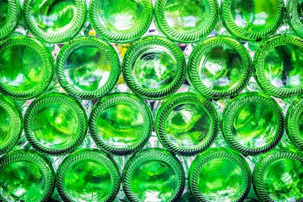 Fonds de bouteilles Photo Premium