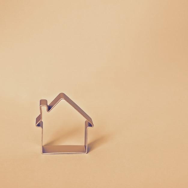 Forme de petite maison Photo Premium