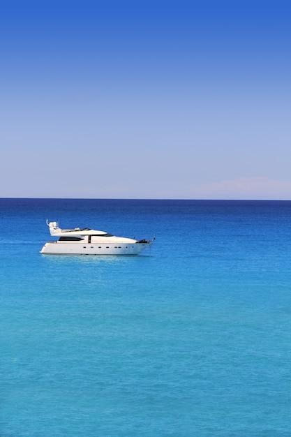 Formentera cala saona meilleures plages méditerranéennes Photo Premium