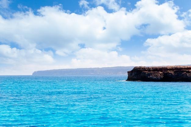Formentera punta prima dans les îles baléares d'espagne Photo Premium