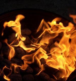 Foyer, le feu Photo gratuit