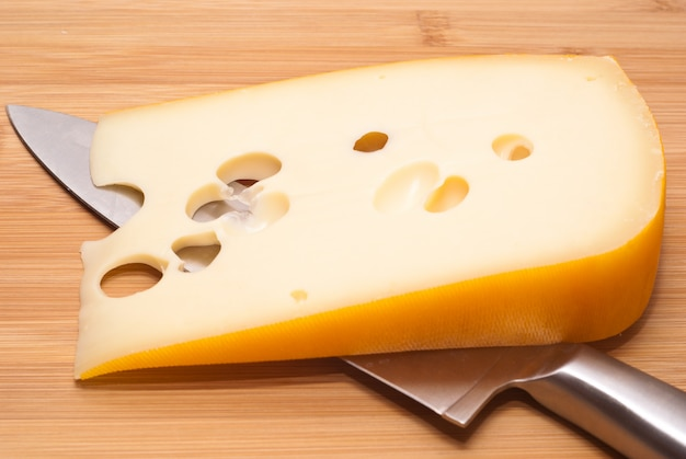 Fromage suisse emmenthal Photo Premium