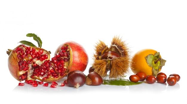 Fruits d'automne Photo Premium