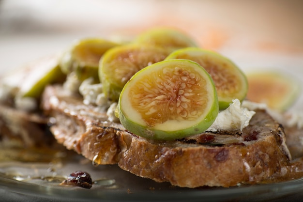 Fruits aux figues Photo Premium