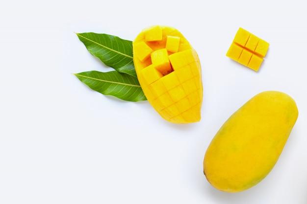 Fruits tropicaux, mangue Photo Premium