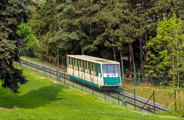 Un Funiculaire à Prague Photo Premium