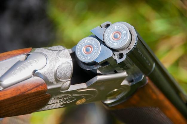 Fusil de chasse à 12 alésages Photo Premium