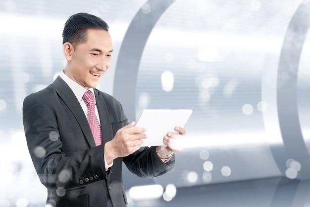 Futur concept technologique Photo Premium
