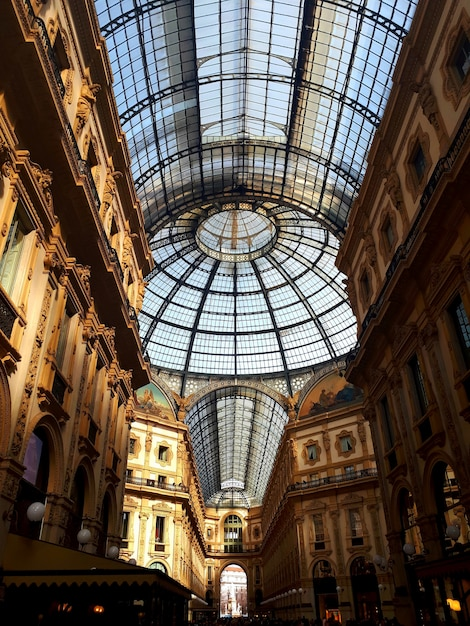 Galerie vittorio emanuele à milan Photo Premium
