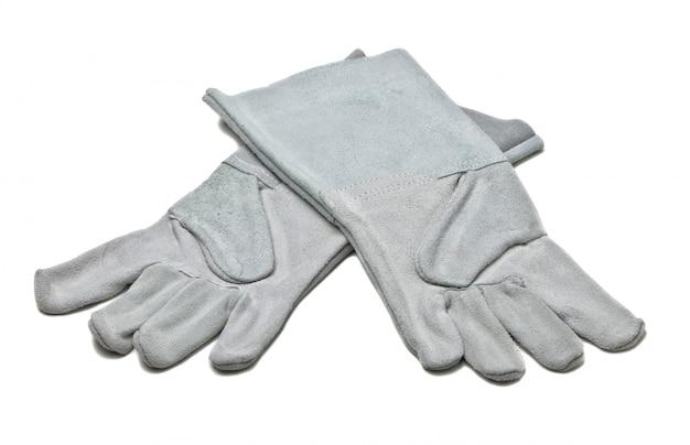 Des gants de cuir Photo Premium