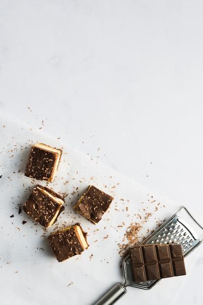 Gateau au chocolat Photo gratuit