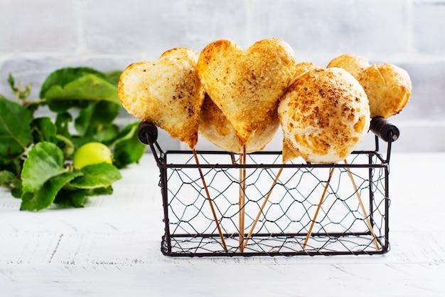 Gâteau Aux Pommes Fait Maison Photo Premium