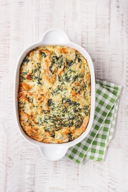 Gâteau de légumes cuits Photo gratuit