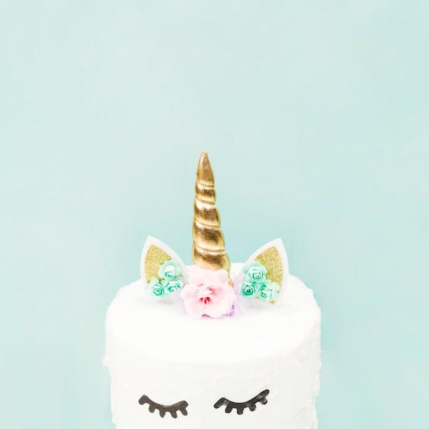 Gâteau à la licorne Photo gratuit
