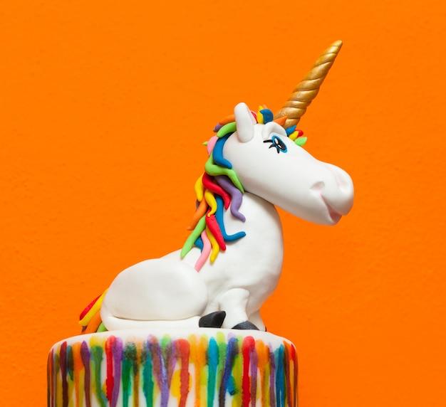 Gâteau licorne Photo Premium