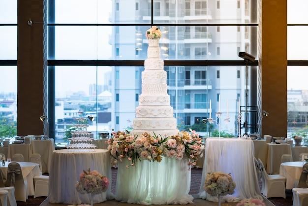 Gâteau de mariage Photo Premium