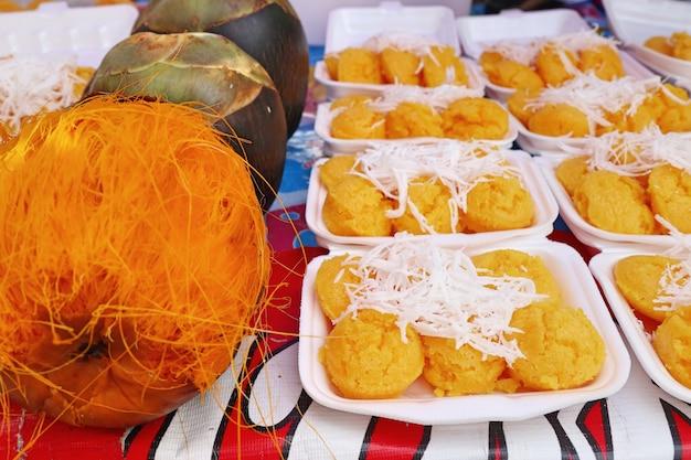 Gâteau Thaïlandais à La Palme Photo Premium
