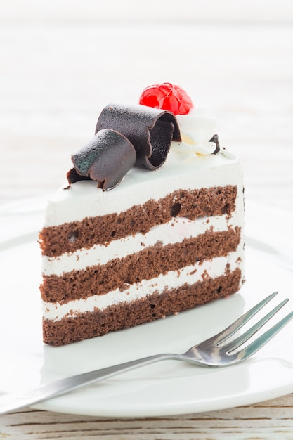 Gâteaux de la forêt noire Photo gratuit