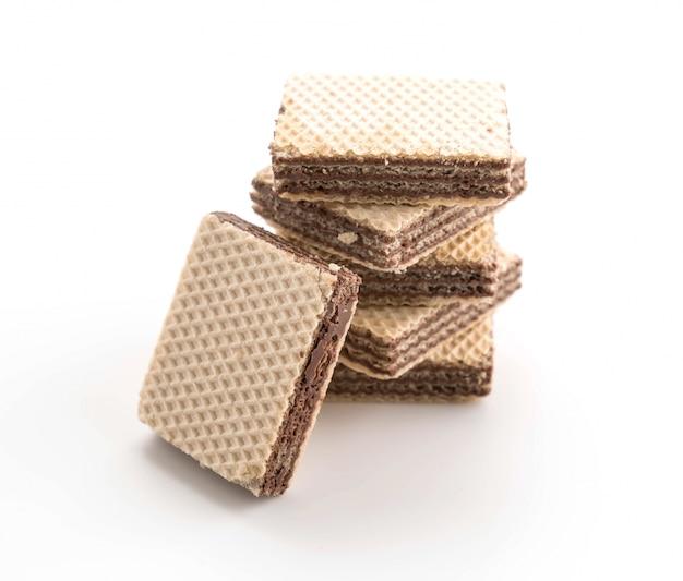Gaufrette au chocolat Photo gratuit