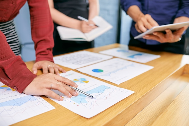 Gens Affaires, Analyser, Document Photo gratuit
