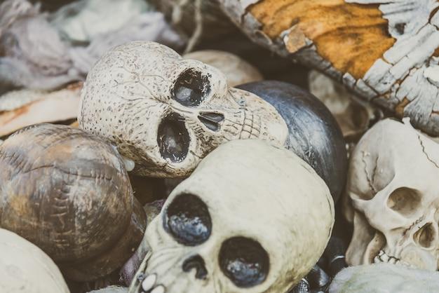 Les gens commémoratifs de halloween morts humain Photo gratuit