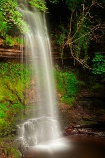 Glencar chutes dynamique hdr Photo gratuit