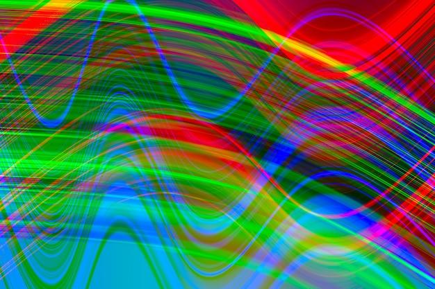 Glitch, fond abstrait d'éclairage. Photo Premium