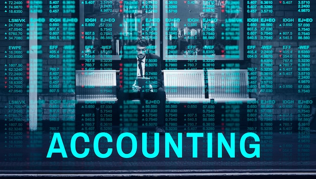 Global Business Accounting Fintech Marketing Photo gratuit