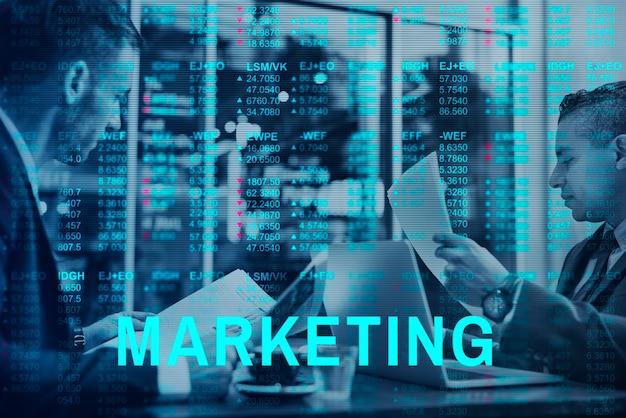 Global Business Accounting Fintech Marketing Photo gratuit