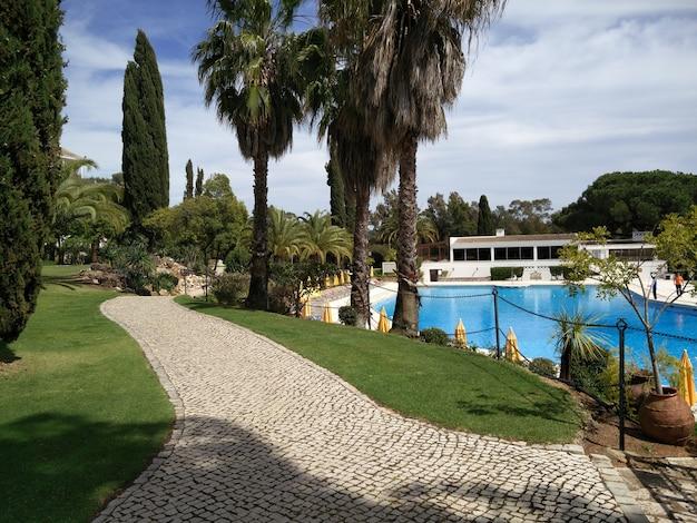 Golf resort de luxe dans la région de l'algarve. Photo Premium