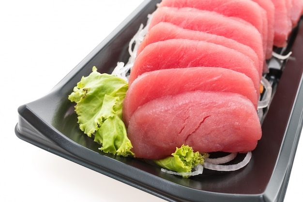 Gourmet sushi sain poisson blanc Photo gratuit