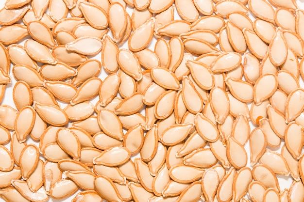 Graines de citrouille orange Photo Premium